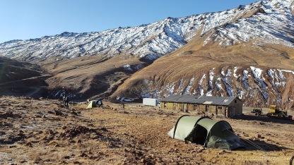 Zelten im Niemandsland