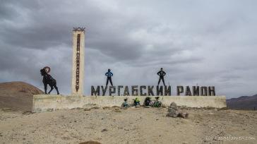 Grenze zur Region Murghab