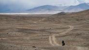 Mondlandschaft zwischen Yashilkul und Alichur