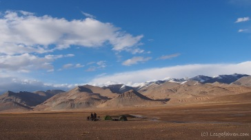 Zeltlager in gigantischer Kulisse (Foto: Kilian Hermes)