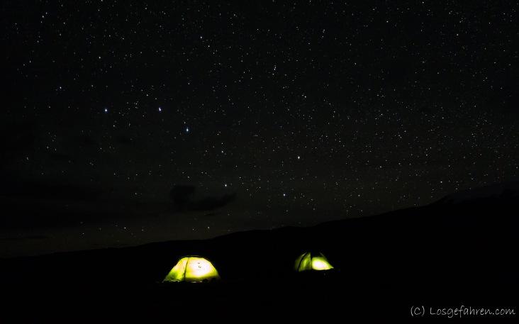 Camping-Spot am Karakul-See