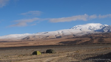 Camping-Spot am Karakul-See (Foto: Kilian Hermes)