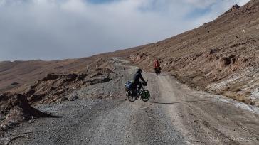 Auffahrt zum Grenzpass