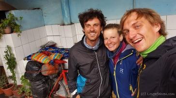 Mikel aus dem Baskenland - für eine Nacht haben wir uns spontan die Unterkunft geteilt. Sehr angenehmer Geselle :-)