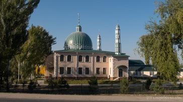 Moschee kurz hinter Bishkek