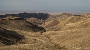 In Kasachstan wird es langsam wieder gelb und trocken