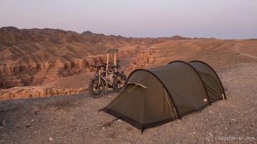 Campingspot am Abgrund