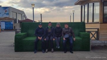 Ausflug nach Shymbulak mit Amir und seinem Cousin