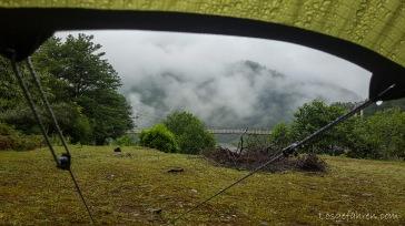 Blick aus dem Fenster (Südgeorgien)