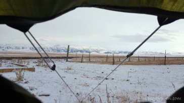 Blick aus dem Fenster (Kasachstan)