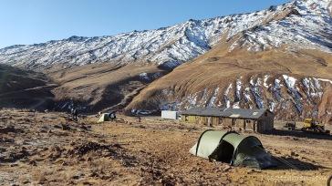 Niemandsland zwischen Tadschikistan und Kirgistan